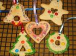 CHRISTMAS TREE ORNAMENT COOKIES