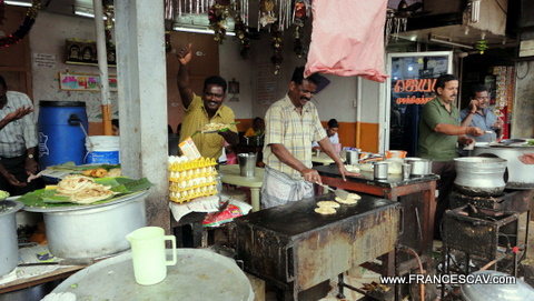 Al mercato di George Town, Chennai, India