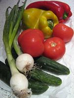 Ingredienti per il gazpacho